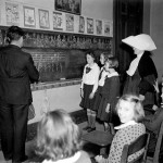 Music Class at St Elizabeth's Orphanage New Orleans 1940