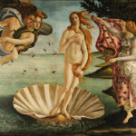 The Birth of Venus, by Sandro Botticelli. The goddess Venus is the classical personification of beauty.